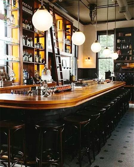 新古典风格酒吧效果图