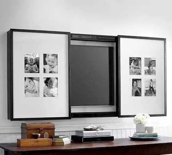 收纳型电视背景墙图片大全
