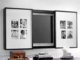 惊喜在眼前  10个收纳型电视背墙效果图