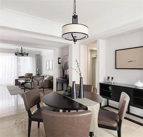 133平方的房子装修效果图 大三房素雅漂亮又省钱装修案例