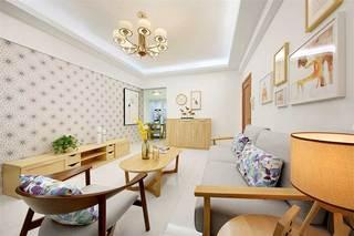 90平米简约三居室装修装饰效果图
