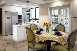 160平美式四房装修餐厅效果图