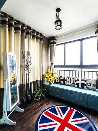 儿童房休闲飘窗设计布置摆放图