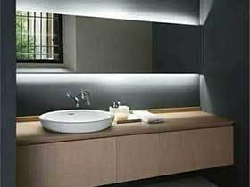 隐形的光  10个卫生间隐形灯带设计图片