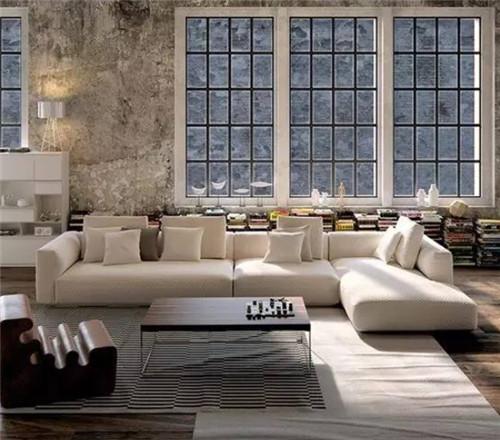 Gray White Urban Contemporary Modern Minimalism High Tech: 毛坯房创意装修效果图 毛胚房不用装修也可以美美哒_按空间查看_案例_齐家网