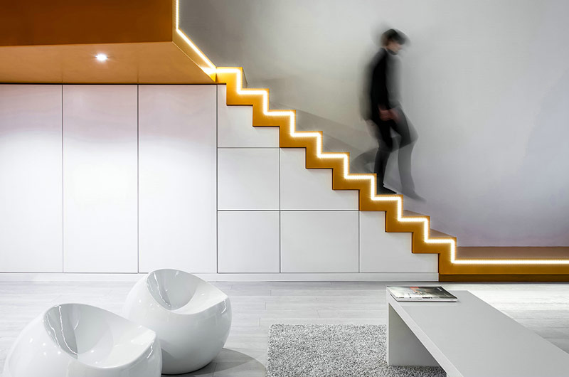 小户型loft公寓收纳柜设计图