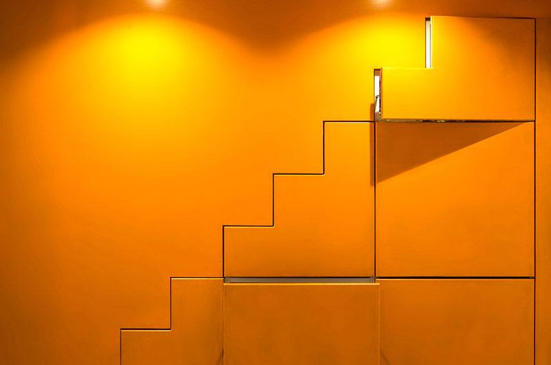 小户型loft公寓储物柜装修