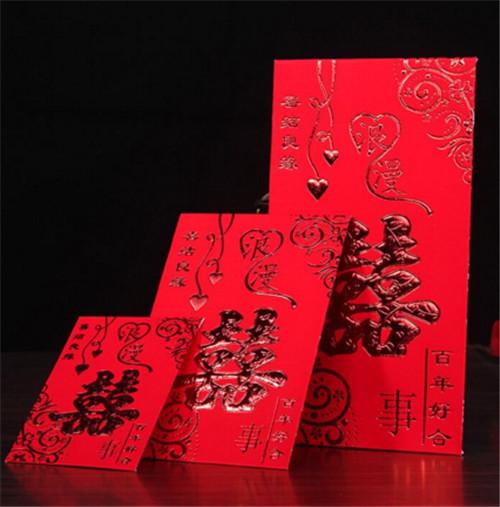 同事结婚红包怎么写比较吉利 1,先说格式 红包贺词的格式一般分为