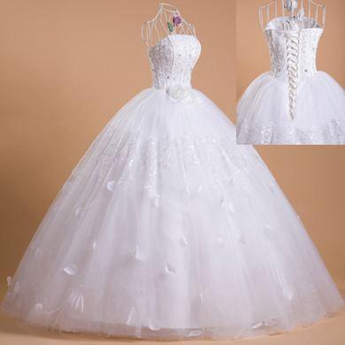 中西款漂亮婚纱图片欣赏 婚纱礼服有哪些款式