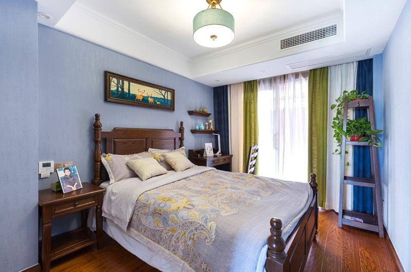 135平简美风格装修卧室吊灯设计