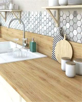北欧风格厨房装修瓷砖装饰图
