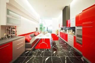 现代风格厨房装修装饰效果图
