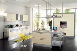现代风格厨房设计构造图