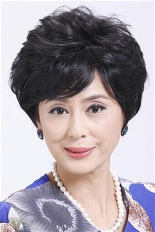 妈妈发型_妈妈婚礼发型图片欣赏 妈妈发型搭配