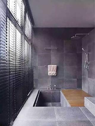 浴室百叶窗设计参考图