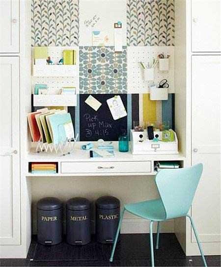 衣柜书房设计摆放图