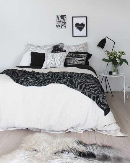北欧风卧室设计参考效果图