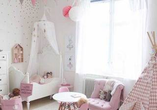 精致儿童房设计实景图