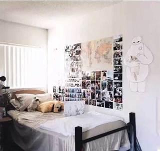 出租屋卧室装修装饰效果图