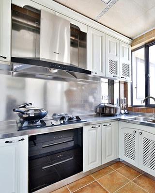 117平混搭风格二居整体厨房装修