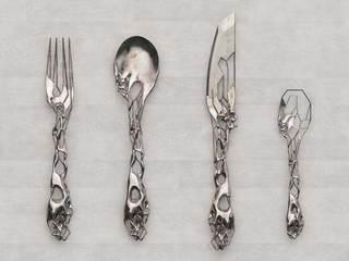 创意餐具装修平面图