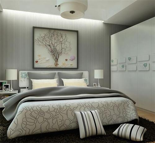 卧室适合什么颜色墙漆 佛山卧室装修颜色效果图