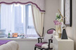 140平样板间装修卧室飘窗设计