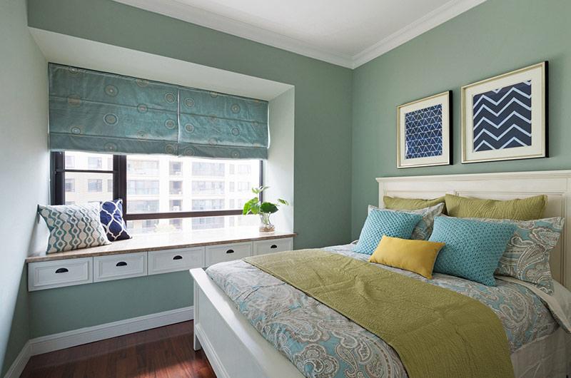 150平美式风格四居次卧装修图