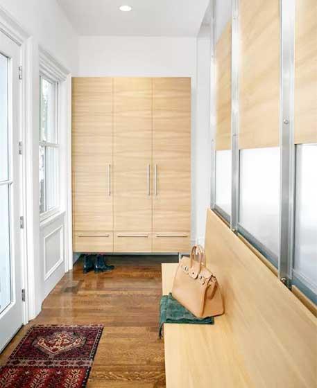 精美玄关柜装修装饰效果图