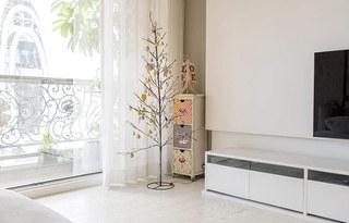 120平北欧风格三居电视柜设计
