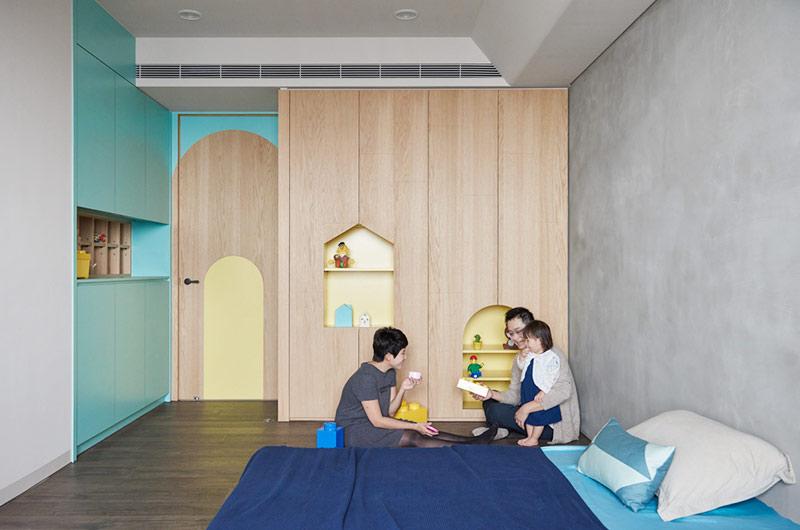 150平简约风格二居儿童房装修