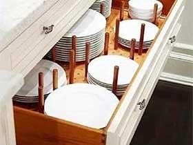 小巧实用设计  10个厨房收纳实景图