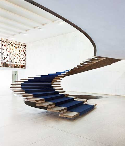 旋转楼梯设计构造图