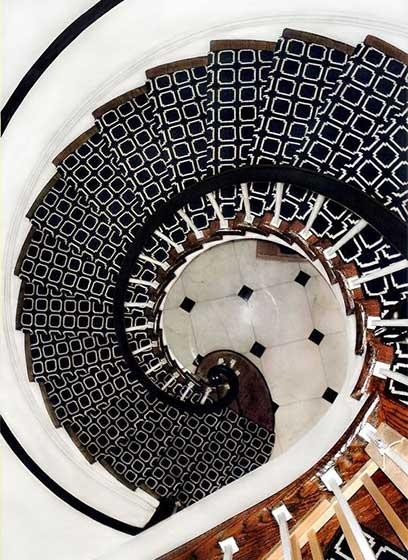 旋转楼梯装修参考图