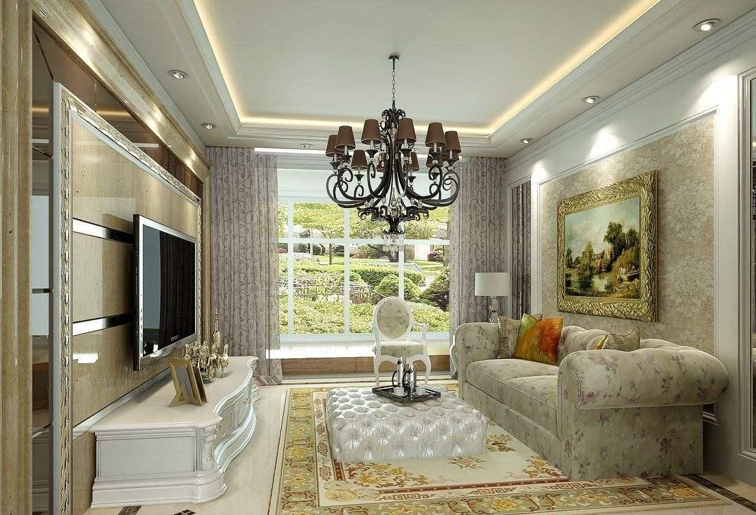 什么是简欧风格 简欧式客厅装修的特点图片