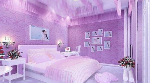 那么在婚礼当天要如何布置婚房才好看呢?图片