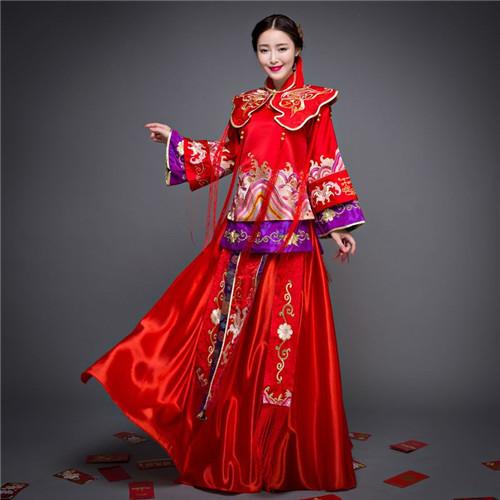中式婚纱多少钱 如何选购婚纱