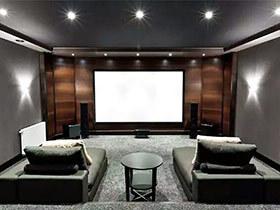 11个家庭影音室装修设计 把电影院搬进家