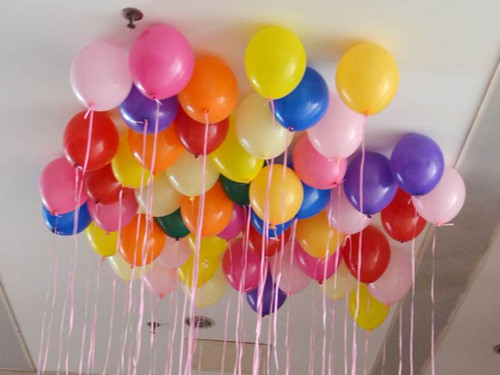 气球装饰婚房图2017款 婚房的气球怎么布置