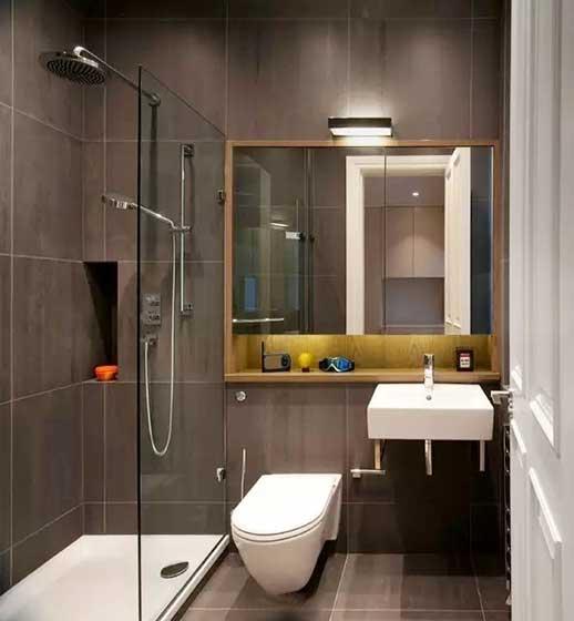 小户型卫生间设计欣赏图