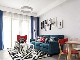 105平简约风格三房二厅设计 暖暖的春风