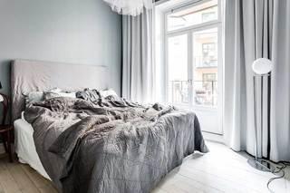 100㎡北欧风卧室效果图