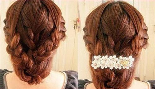 新娘发型编发步骤 如何打造好看的新娘发型
