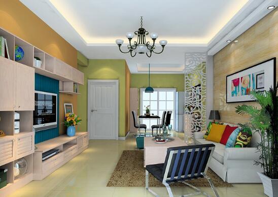 欧式装潢客厅装修效果图 小户型也能装欧式装修