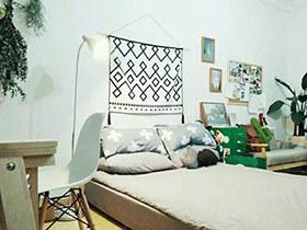 25平小户型旧房改造装修 出租房也有春天