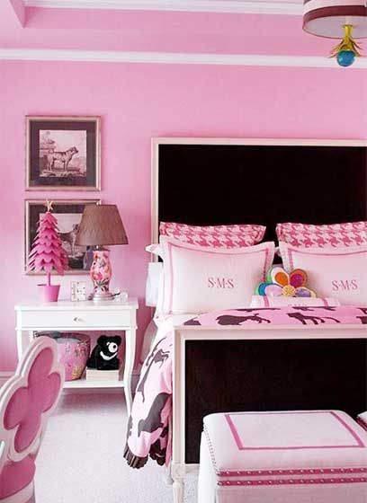 女生卧室设计欣赏图