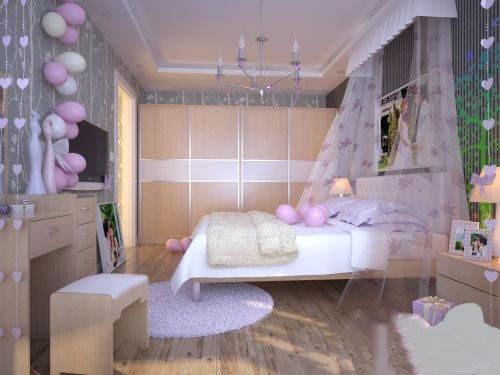 婚房布置效果图2017款气球图片欣赏 婚房怎么布置好看