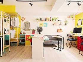 40平米地下室改造公寓图片  我和你的新家