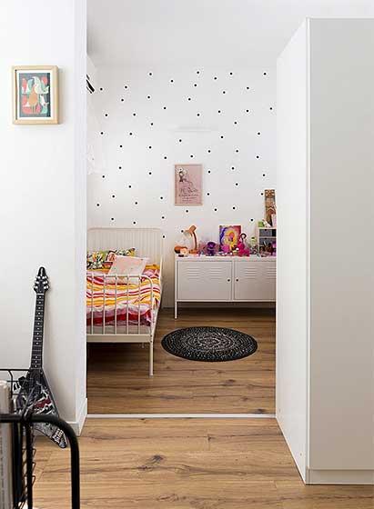 简约风两居室卧室欣赏图