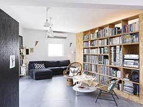 90㎡简约风两居室设计图  环保清爽家